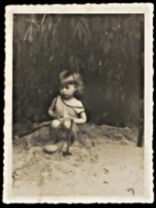 Franciszek Mańkowski - zdjęcie z dzieciństwa organisty z Konstantynowa