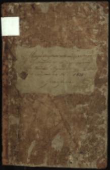 Księgi Akt Urzędnika Stanu Cywilnego Gminy Bialskiej Obrządku Łacińskiego aktów urodzń,przyznań przysposobien i zgonów na rok 1824