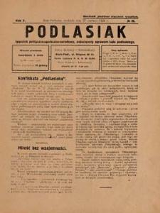 Podlasiak : tygodnik polityczno-społeczno-narodowy, poświęcony sprawom ludu podlaskiego R. 5 (1926) nr 26