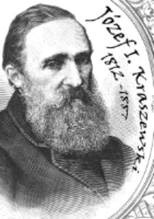 """Plakat : Wystawa """"Józef Ignacy Kraszewski 1812-1887"""" (marzec - kwiecień 2017 r.)"""
