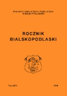 Rocznik Bialskopodlaski. T. 24 (2016)