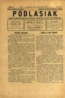 Podlasiak : tygodnik polityczno-społeczno-narodowy, poświęcony sprawom ludu podlaskiego R. 6 (1927) nr 41