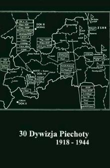 30 Dywizja Piechoty 1918 - 1944 : [katalog wystawy]