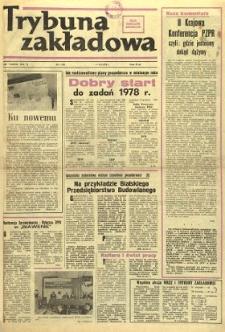 Trybuna Zakładowa : organ samorządów robotniczych R. 2 (1978) nr 1