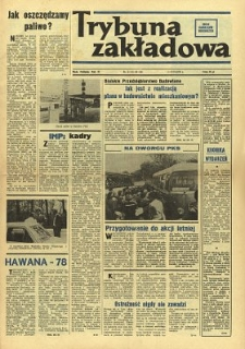Trybuna Zakładowa : organ samorządów robotniczych R. 2 (1978) nr 11-12