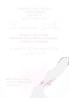 Afisz : [Inc.:] Miejska Biblioteka Publiczna w Białej Podlaskiej zaprasza na spotkanie regionalne z Dominikiem Sobolem literatem, stypendystą Marszałka Województwa Lubelskiego w dziedzinie literatury