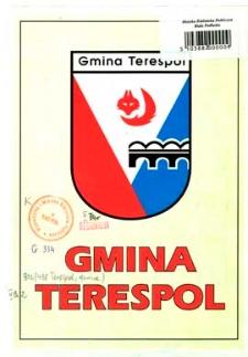 Gmina Terespol : mapa : informator