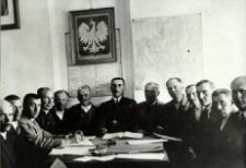Członkowie Rady Gminy w Rossoszu [fotografia]
