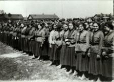 Zgrupowanie oddziałów Przysposobienia Wojskowego w Białej Podlaskiej [fotografia]