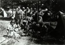 Obóz drużynowych w Brześciu przed zlotem w Spale [fotografia]