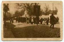 Biala - Beerdigung