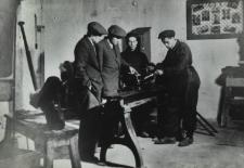 Warsztat naprawczy Spółdzielni Kierowca i Mechanik Samochodowy w Białej Podlaskiej [fotografia]