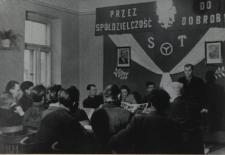 Walne zgromadzenie członków Spółdzielni Kierowca i Mechanik Samochodowy w Białej Podlaskiej [fotografia]