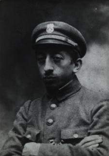 Franciszek Zięcina pracownik Sądu Okręgowego w Siedlcach w mundurze POW [fotografia]