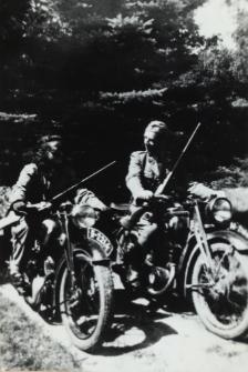 Na polowaniu w Worońcu [fotografia]