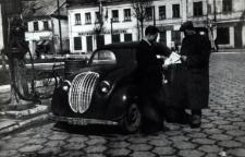 Stacja benzynowa w Międzyrzecu Podlaskim [fotografia]