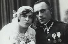 Kapral Stanisław Prokopek z żoną [fotografia]