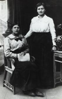 Dziewczęta z bialskich rodzin mieszczańskich [fotografia]