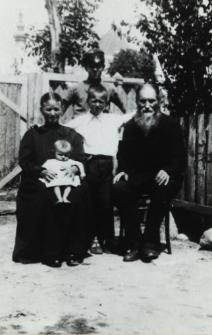 Mieszczanie bialscy tzw. łopotuni [fotografia]