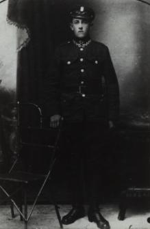 Żołnierz wojska polskiego - mieszkaniec Białej Podlaskiej