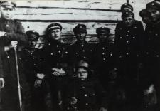 Żołnierze w czasie wojny polsko-bolszewickiej 1919-1920 r. [fotografia]