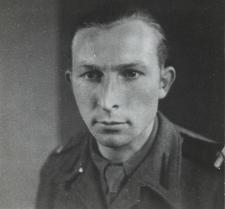 Stefan Łazanowski z Konstantynowa - żołnierz I Dywizji Pancernej gen. Stanisława Maczka [fotografia]