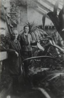 Oranżeria w majątku Plater-Zyberków w Konstantynowie [ fotografia]
