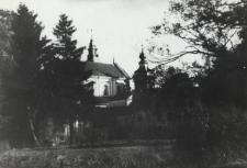 Klasztor Paulinów w Leśnej Podlaskiej od strony ogrodu [fotografia]