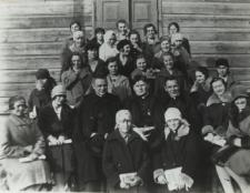 Katolickie Stowarzyszenie Młodzieży Żeńskiej w Konstantynowie [fotografia]