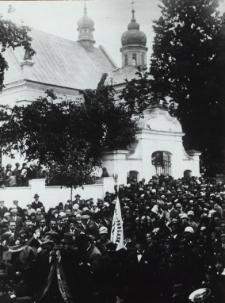 Obchód 300-lecia Gimnazjum Męskiego w Białej Podlaskiej i II-gi Zjazd koleżeński b. wychowankóww Białej Podlaskiej, dnia 23 IX 1928 r.