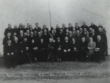 Poświęcenie sztandaru Cechu Ślusarzy, Kowali i Blacharzy w Białej Podlaskiej [fotografia]