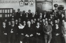 Uczestnicy Wyższego Kursu Nauczycielskiego we Lwowie [fotografia]