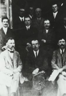 Członkowie Kółka Rolniczego w Łomazach [fotografia]