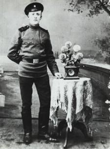 Teodor Modest Kraszewski, syn Aleksandra [fotografia]