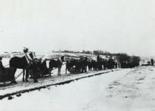 Kulig w Zakanalu [fotografia]