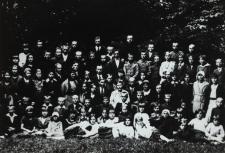 Wycieczka uczniów szkoły powszechnej w Konstantynowie do Białej Podlaskiej [fotografia]