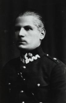 Ppor. Henryk Zakrzewski z 6 Batalionu Saperów w Brześciu [fotografia]