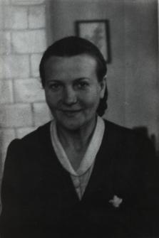 Maria Popowska - nauczycielka biologii i w Liceum Ogólnokształcacym im. J. I. Kraszewskiego w Białej Podlaskiej [fotografia]