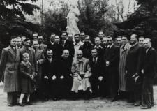 """Chór Męski """"Echo Podlasia"""" w Białej Podlaskiej w latach okupacji niemieckiej [fotografia]"""