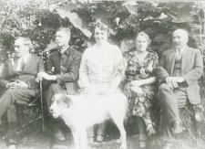 Rodzina sędziego Franciszka Kryńskiego [fotografia]