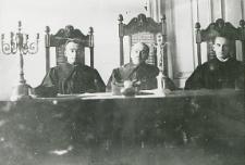 Pracownicy sądu w Białej Podlaskiej [fotografia]