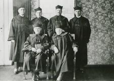 Sędziowie i prokuratorzy Sądu Okręgowego w Białej Podlaskiej [fotografia]
