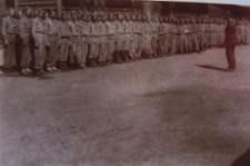 Obóz pracy przymusowej junaków na lotnisku w Białej Podlaskiej [fotografia]