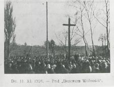 Obchody 10 rocznicy odzyskania niepodległości w Leśnej Podlaskiej [fotografia]