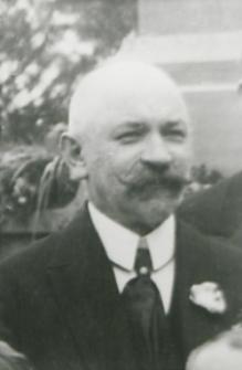Henryk Ehrenkrautz właściciel apteki w Białej Podlaskiej przy ul. Warszawskiej [fotografia]