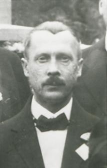 """Antoni Pawłowski Sekretarz """"Koła Bialczan"""" [fotografia]"""