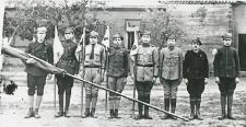 Męska drużyna harcerska w Sokołowie Podlaskim [fotografia]