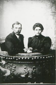 Bialska rodzina Abramowiczów mieszczan rolników [fotografia]
