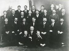 Pracownicy Podlaskiej Wytwórni Samolotów w Białej Podlaskiej [dokument ikonograficzny]