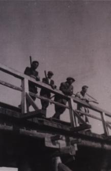 Most wojskowy na Krznie w Białej Podlaskiej [fotografia]